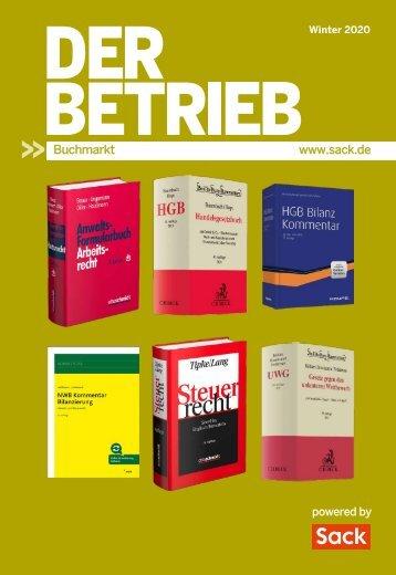 Der Betrieb Buchmarkt