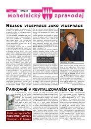 Mohelnický zpravodaj listopad 2012 - Mohelnice
