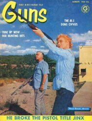 GUNS Magazine August 1960