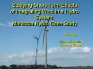 Studying Short-Term Effects of Integrating Wind in ... - Synexus Global