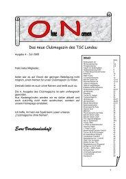 platz 2 für bauernhansel/cantzler in stuttgart am 31.10 ... - TSC Landau