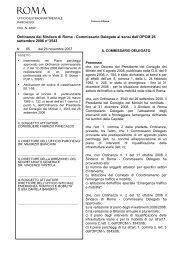 N.65 del 26/11/2007 - Comune di Roma