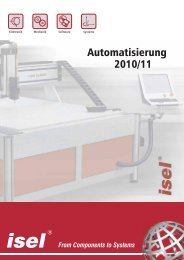 Automatisierung 2010/11 - ISEL Germany AG