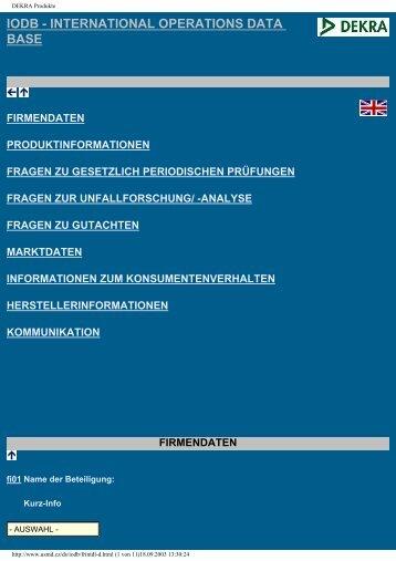 DEKRA Produkte - CITA International Motor Vehicle Inspection ...