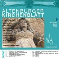 Ostermontag - Kirchgemeinde Altenburg