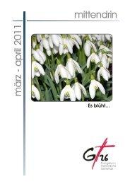 März - April 2011 - Evangelisch-Freikirchliche Gemeinde Gera