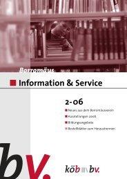 Information & Service 2-06 - Borromedien