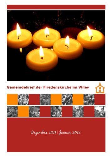 Dezember 2011 | Januar 2012 - Friedenskirche Neu-Ulm