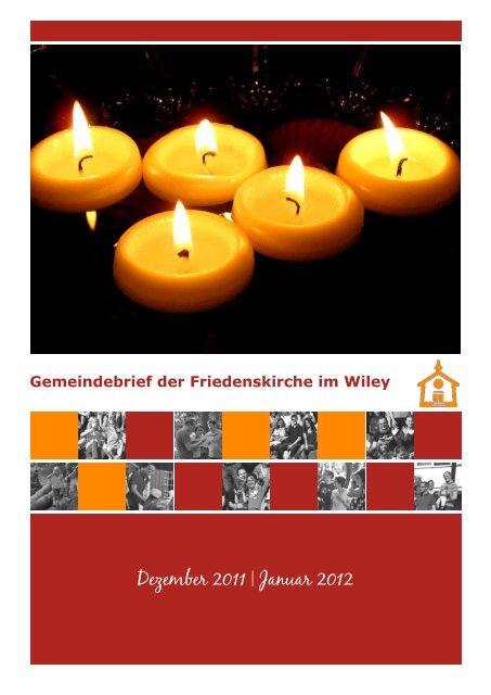 Dezember 2011   Januar 2012 - Friedenskirche Neu-Ulm