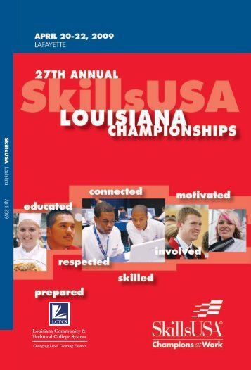 SkillsUSA Louisiana April 2009 - Louisiana Community and ...
