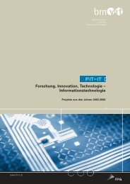 Forschung, Innovation, Technologie – Informationstechnologie - FIT-IT