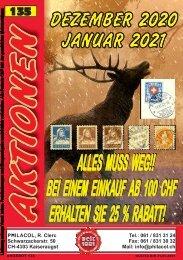 Philacol Nettopreisangebot Dezember 2020 / Januar 2021