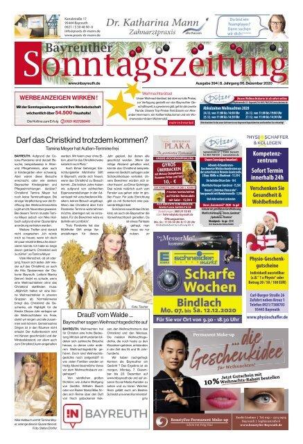 2020-12-06 Bayreuther Sonntagszeitung