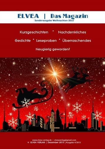 Elvea - Weihnachtsmagazin 2015