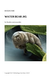 Zare - Water Bear Jig for flex band