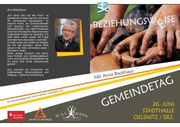 GEMEINDETAG - Landesverband Sachsen