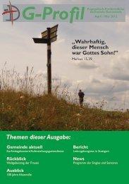 G-Profil - Evangelisch-Freikirchliche Gemeinde Darmstadt