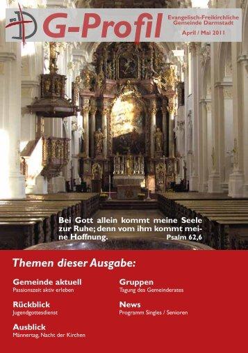 Themen dieser Ausgabe: - Evangelisch-Freikirchliche Gemeinde ...