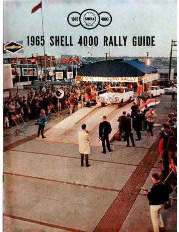 1965 Guide 1 - Shell 4000 Rallies