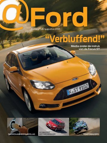 """""""Verbluffend!"""" - Ford"""