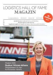 Logistics Hall of Fame Magazin 2020