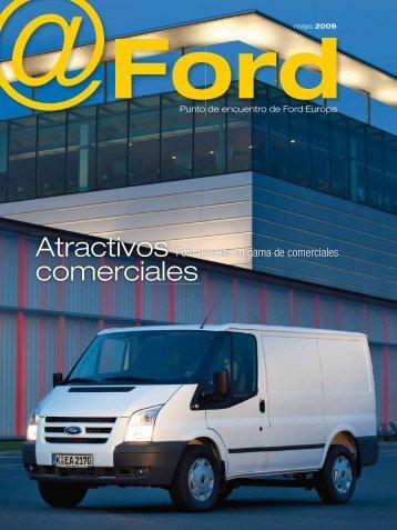 Atractivos comerciales - Ford