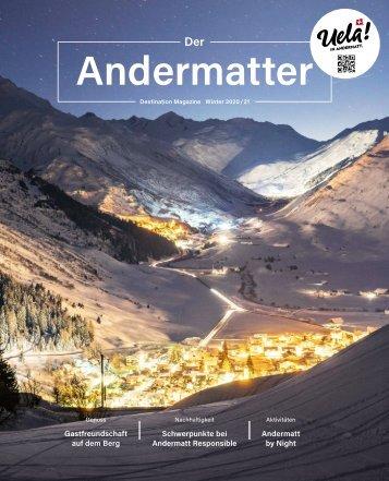 DER ANDERMATTER Winter 2020