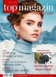 TOP Magazin Ulm 04/2020