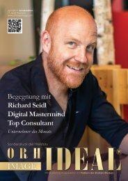 Preview - Richard Seidl Digital Native Top Speaker Erfolg Story - Orhideal IMAGE Magazin Juni 2021