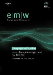 Neues Energiemanagement der TH Köln - Betriebskostenoptimierung durch Anlagensanierung