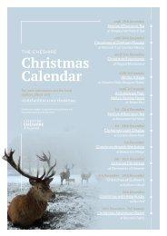 The Cheshire Christmas Calendar
