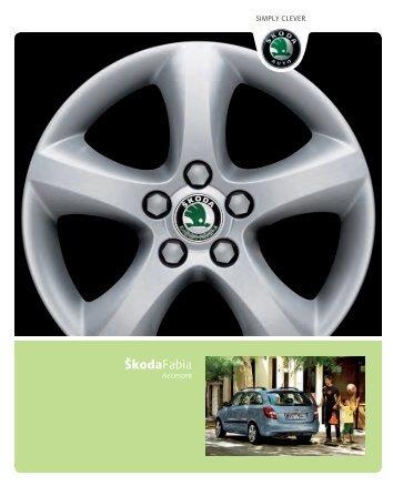 Descarca catalogul de accesorii Škoda Fabia - Avia Motors