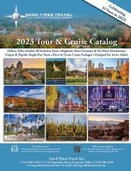 Good Times Travel 2021-2022 Tour Catalog