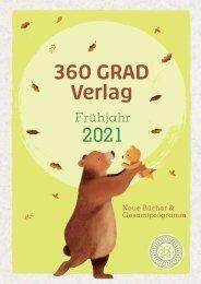 360 GRAD VERLAG - NEUE BÜCHER & GESAMTPROGRAMM - FRÜHJAHR 2021