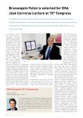 EHA Congress 15th Anniversary - European Hematology Association - Page 6