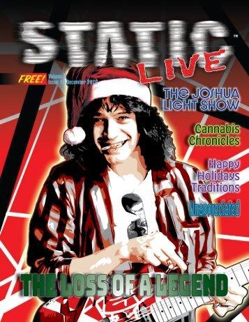 Static Live Magazine December 2020