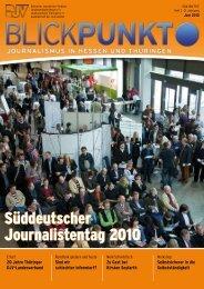 BlickPunkt Ausgabe 2-2010 - Deutscher Journalistenverband ...