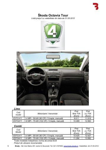 Škoda Octavia Tour - Brady Trade
