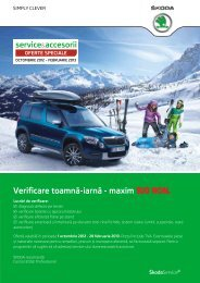 PORO - Catalog oferte toamna-iarna Skoda - 2012 - curbe