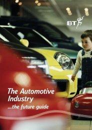 The Automotive Industry - BRASS - Cardiff University