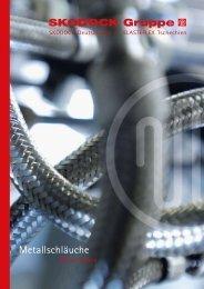 Broschüre Metallschläuche (PDF, 394 KB) - Skodock