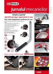 Pentru ateliere de reparaţii auto şi industria ... - Ks-tools.com