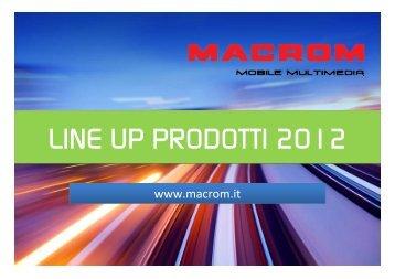 2012 line up presentation