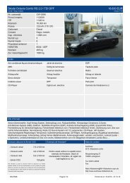 Skoda Octavia Combi RS 2,0 l TDI DPF 18.830 EUR