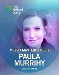 Paula Murrihy Mezzo Masterpieces Programme Book