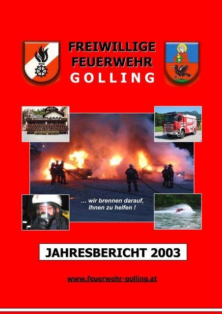 Vorschau 2004 - Freiwillige Feuerwehr Golling