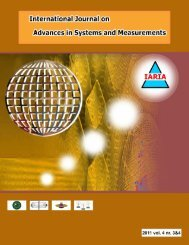 download vol 4, no 3&4, year 2011 - IARIA Journals