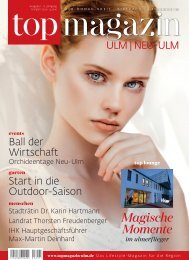 Top Magazin Ulm 01/2020