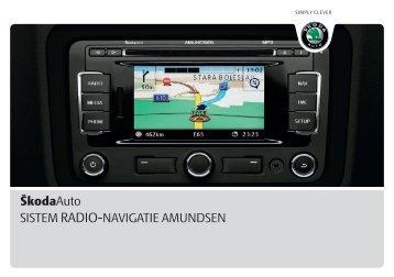 SISTEM RADIO-NAVIGATIE AMUNDSEN ŠkodaAuto - Media Portal ...