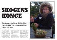 SKOGENS KONGE Et tre i skogen var Marius Bachkes hjem i to år ...
